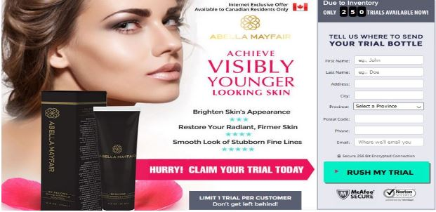 Abella Skincare Combo Trial: Abella MayFair 90-Second Wrinkle Control with Day & Night Cream