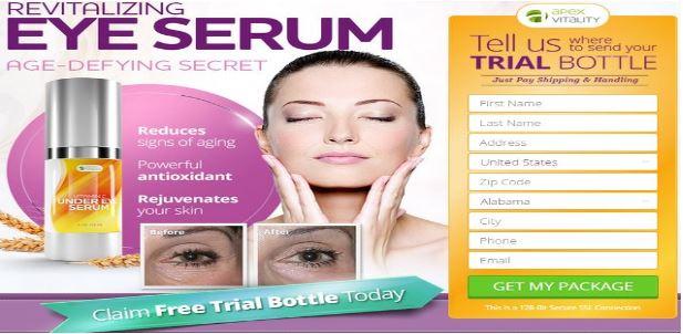 Apex Vitality Eye Serum
