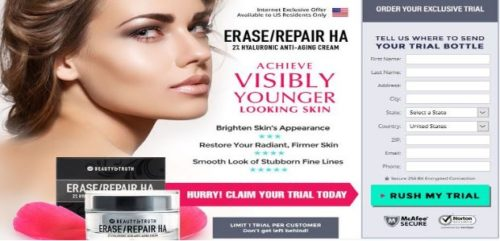 Beauty & Truth Erase/Repair HA with Renewing Serum CE