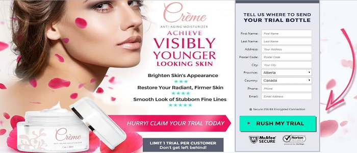 Creme Anti-Aging Moisturizer
