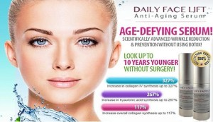 Claim Your Risk Free Trial of Daily Facelift Serum Today!