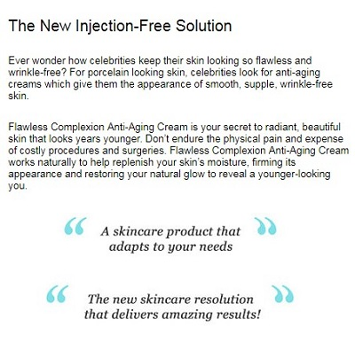 Flawless Complexion Intensive Anti-Aging Cream