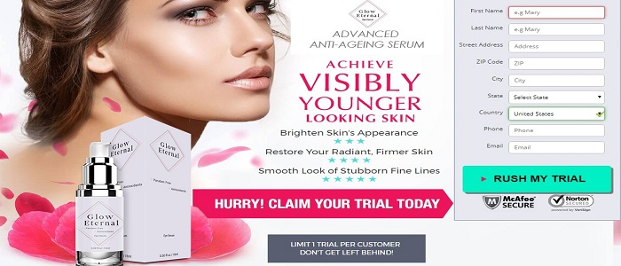 Glow Eternal Skin Cream & Glow Eternal Eye Serum: A Premium Antiaging Combo