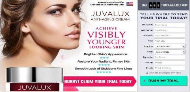 JUVALUX FACE CREAM and JUVALUX Eye Restoration Serum