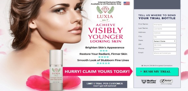 Luxia No. 7 Collagen Serum Trial Today