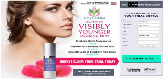 NovuDerm Pro Collagen Serum and NovuDerm Instant Lift