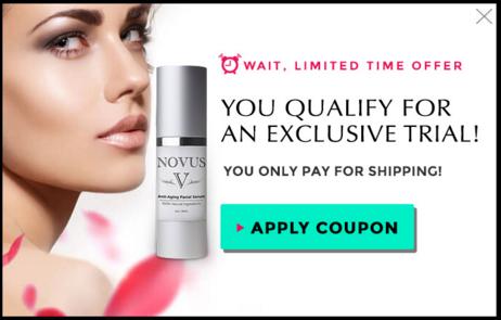 Novus Anti-Aging Serum and Novus Lift & Firm Trial