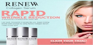 Renew Collagen Serum and Cream Combo