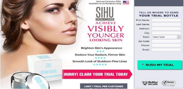 SIHU Wrinkle Cream Combo: SIHU Face Therapy & Biocool Firming Eye Serum