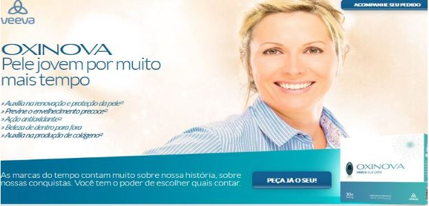 Veeva Oxinova Skin Care Supplement Brazil