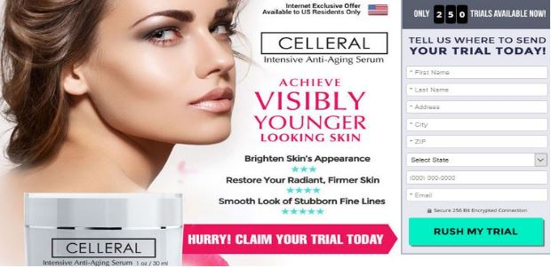 Celleral Serum with Celleral Youth Eye Gel Offer