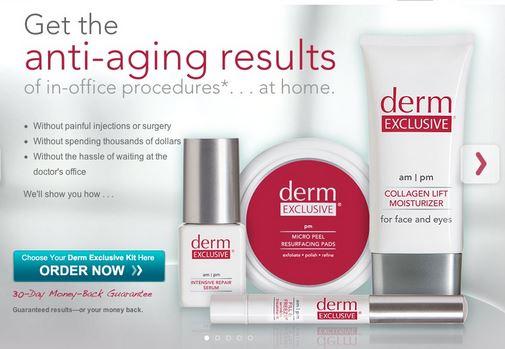Derm Exclusive Collagen Lift, Intensive Repair and Fill ...