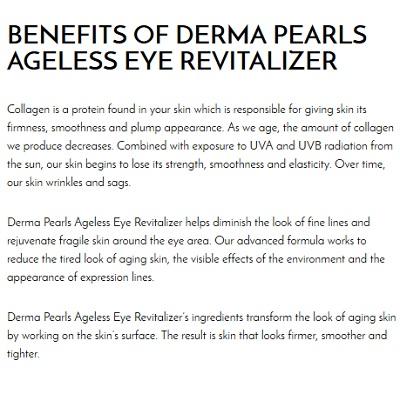 Derma Pearls Eye Revitalizer