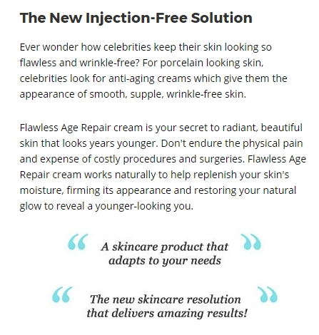 Flawless Age Repair Wrinkle Reduce