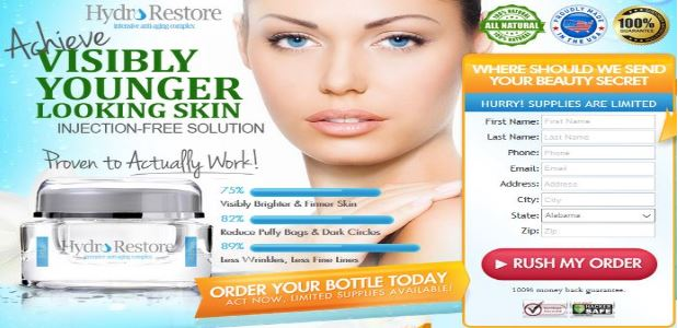 Hydro Restore Skin Cream UK Exclusive Trial