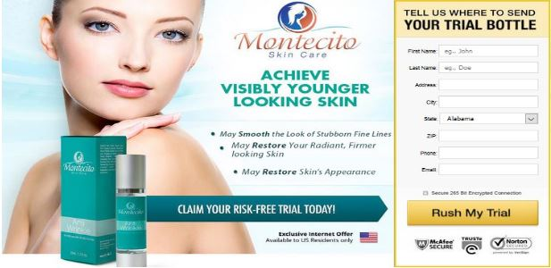 Montecito Face Cream with Montecito Eye Serum Trial