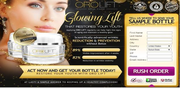 Oro Lift Skin Cream and Found Youth Eye Serum