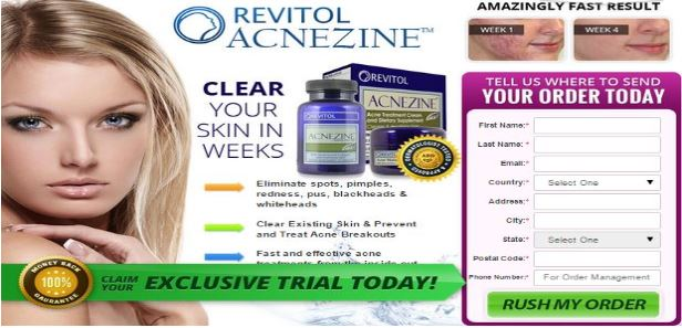 Revitol Acnezine Acne Treatment Trial Reviews