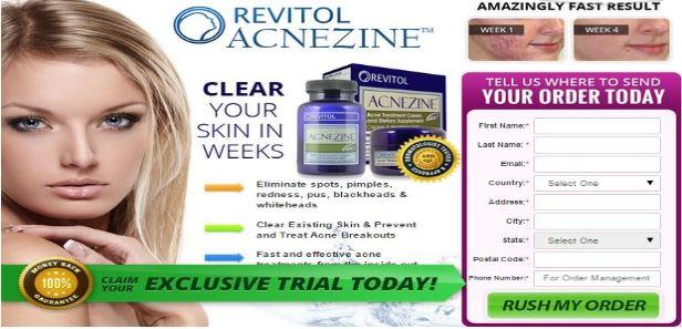 Revitol Acnezine Acne Treatment Trial Reviews