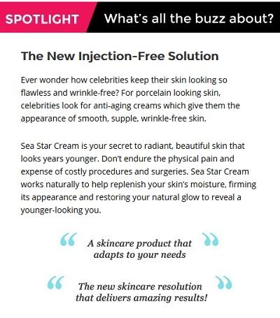 Sea Star Facial Cream