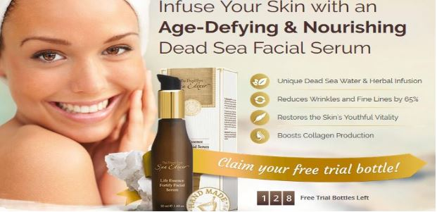 Spa Elixir Dead Sea Facial Serum
